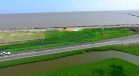 Transformed 'green' seawall to be recreational,...