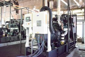 Kwakwani Utilities Inc. commissions new engines