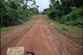 Matthews Ridge to Baramita road nearing completion