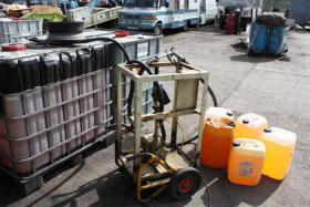 Over 9,000 gallons of illegal fuel seized in fi...