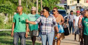 Minister Ferguson Visits Better Hope/La Bonne I...